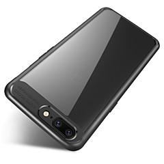 halpa Kotelot-Etui Käyttötarkoitus OnePlus Peili Läpinäkyvä Takakuori Yhtenäinen väri Pehmeä Silikoni varten One Plus 5
