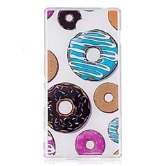 Чехол для sony m2 xa чехол для крышки пончики шаблон tpu материал imd craft мобильный телефон кейс