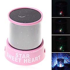 Sterrennachtlicht LED-verlichting Projectie lamp Speeltjes Romantisch 1 Stuks Kind Geschenk