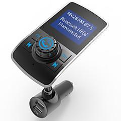 Недорогие Bluetooth гарнитуры для авто-Автомобиль HY68 V3.0 FM приемники USB слот МР3 плеер