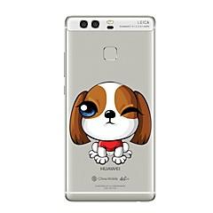 Чехол для случая для huawei p8 lite2017 p10 крышка прозрачный чехол собака мягкий tpu для p10 lite p10 plus p9 plus p9 lite p9 p8 lite p8