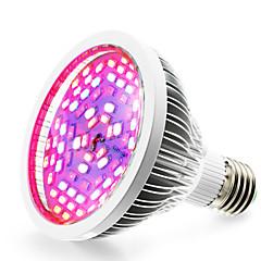 E27 Luci LED per la coltivazione 78 SMD 5730 2500-3200 lm Bianco caldo Rosso Blu Lampada UV (a ultravioletti) K V