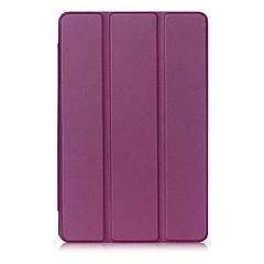 billige Tablett-etuier-Etui Til Heldekkende etui Tablet Cases Ensfarget Hard PU Leather til