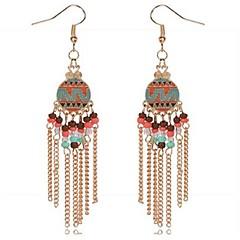 preiswerte Ohrringe-Damen Tropfen-Ohrringe - Personalisiert, Quaste, Böhmische Gold / Silber Für Geschenk Ausgehen Strand