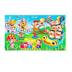 Bildungsspielsachen Holzpuzzle Spielzeuge Zeichentrick Unisex Stücke