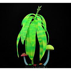 tanie Dekoracje do akwarium-Dekoracja Aquarium Rośliny Świecący