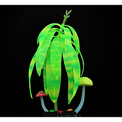 Akvariedekoration Planter Selvlysende