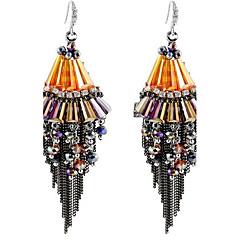 Dames Druppel oorbellen Met de hand gemaakt Oversized PERSGepersonaliseerd Legering Conische vorm Sieraden Voor Anders >> Toneel