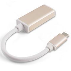 it-ceo y2type-cd-m usb 3.1タイプ-cからミニdp 1080p 10gbps高速アダプタ、macbook pro macbook 15cmアルミニウムpvc