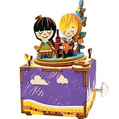 Barkács készlet Zenedoboz Játékok Körhinta Fa Darabok Gyermek Uniszex Születésnap Valentin nap Ajándék