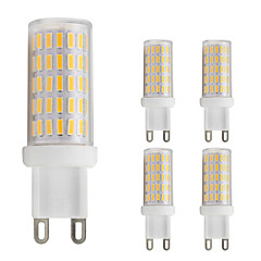 preiswerte LED-Birnen-5 Stück 3W 280lm G9 LED Doppel-Pin Leuchten T 86 LED-Perlen SMD 4014 Warmes Weiß / Kühles Weiß 220-240V