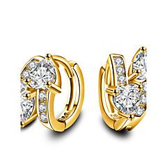 男性用 女性用 設定ピアス 恋 ファッション 愛らしいです シンプルなスタイル クラシック Elegant 銀メッキ 幾何学形 ジュエリー 用途 結婚式 パーティー 誕生日 日常 カジュアル