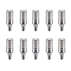5W E14 LED-kronljus C35 25 lysdioder SMD 2835 Varmvit Kallvit Naturlig vit 450lm 4500K 220V