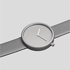 preiswerte Damenuhren-Herrn Quartz Armbanduhr Militäruhr Sportuhr Chinesisch Armbanduhren für den Alltag Leder Band Charme Kreativ Freizeit Einzigartige