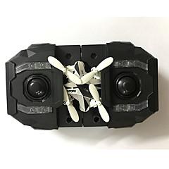 Drón 127 4 Csatorna A 0.3MP HD kamera Egygombos Visszaállítás RC Quadcopter USB kábel Kézkönyv