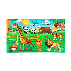 ألعاب تربوية تركيب تركيب خشبي ألعاب الشمس الحيوانات للجنسين قطع
