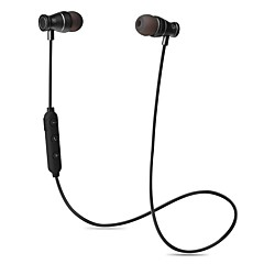 cheap Headsets & Headphones-Cwxuan® Magnetic Adsorption Bluetooth Wireless Sport Metal In-Ear Earphone with Mic / Volume Control