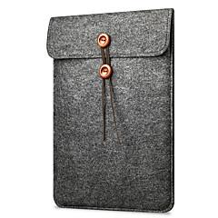 "abordables Fundas para Portátil-Textura de lana Un Color Mangas Laptop de 11 """