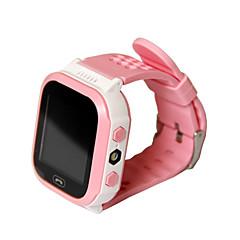 Lasten kellot Vedenkestävä Kosketusnäyttö GPS Monikäyttö Handsfree puhelut SOS Herätyskello Puhelumuistutus Bluetooth 3.0 Mikro-SIM-kortti