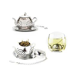 abordables Accesorios para té-Herramientas de cocina Acero inoxidable Juegos de herramientas de cocina Para utensilios de cocina 1pc / Diario / Té