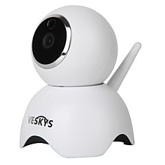 voordelige IP-camera's-veskys® 960p smartpanda wifi ip camera (1.3mp hd / beveiligingsbewaking leuk panda model)