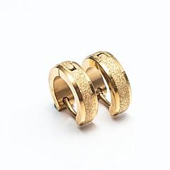 Bărbați Pentru femei Cercei Rotunzi  Zirconiu Cubic Design Basic stil minimalist Oțel inoxidabil Round Shape Bijuterii Pentru Casual Dată