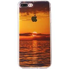 Назначение iPhone 7 Чехлы панели IMD Полупрозрачный С узором Задняя крышка Кейс для Пейзаж Мягкий Термопластик для Apple iPhone 7 Plus