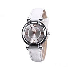 Herre Dame Armbåndsur Unik Creative Watch Kjoleur Modeur Kinesisk Quartz PU Bånd Vedhæng Afslappet Elegant Sort Hvid Blåt Rød Brun Pink