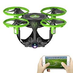 RC Drón FQ777 FQ26 4 Csatorna 6 Tengelyes WIFI A 0.3MP HD kamera RC quadcopter Magasságtartás Előre hátra WIFI FPV LED Világítás Headless