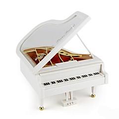 Zenedoboz Játékok Zongora Fa Darabok Uniszex Születésnap Valentin nap Gyermeknap Ajándék
