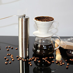 abordables Accesorios para café-Acero inoxidable Manual 1pc Molinillo / Regalo / Diario / Té