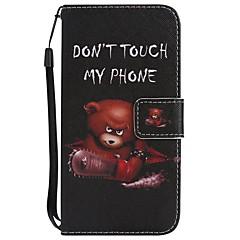 Назначение iPhone X iPhone 8 iPhone 8 Plus Чехлы панели Кошелек Бумажник для карт со стендом Флип С узором Чехол Кейс для Животное Твердый