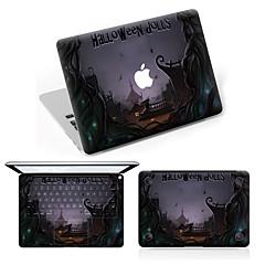 お買い得  週替り Apple アクセサリー SALE !-スキンシール のために 傷防止 Halloween パターン PVC MacBook Pro 15'' with Retina MacBook Proの15 '' MacBook Pro 13'' with Retina MacBook Proの13 '' MacBook
