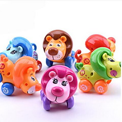 교육용 장난감 태엽 장난감 장난감 자동차 장난감 사자 동물 플라스틱 조각 규정되지 않음 선물