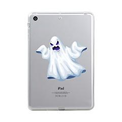 עבור iPad (2017) כיסויים מכסים ל שקוף תבנית כיסוי אחורי מגן שקוף חג ליל כל הקדושים גוגולות רך TPU ל Apple iPad (2017) iPad Pro 12.9''