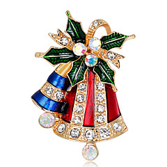 cheap Brooches-Women's Brooches - Fashion Brooch Assorted Color For Christmas / Gift