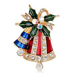 Női Melltűk Strassz Divat karácsonyi Ötvözet Ékszerek Ékszerek Kompatibilitás Karácsony