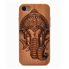 billige iPhone-etuier-Til iPhone X iPhone 8 Etuier Ultratyndt Mønster Bagcover Etui Elefant Blødt TPU for Apple iPhone X iPhone 8 Plus iPhone 8 iPhone 7 Plus