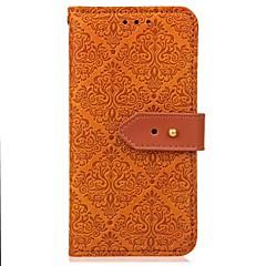 Недорогие Чехлы и кейсы для Galaxy Note 3-Кейс для Назначение SSamsung Galaxy Note 8 / Note 5 Кошелек / Бумажник для карт / со стендом Чехол Однотонный Твердый Кожа PU для Note 8 / Note 5 / Note 4
