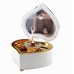Music Box Zabawki Taniec W kaształcie serca Kreskówka Tworzywa sztuczne 1 Sztuk Nie określony Urodziny Prezent