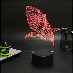 1 세트 장식 색상-변화 데코레이션 라이트 LED 밤 빛 USB 조명-3W-배터리 USB
