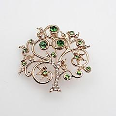 Heren Dames Broches imitatie Diamond Modieus Klassiek Legering Sieraden Sieraden Voor Feest Kerstmis