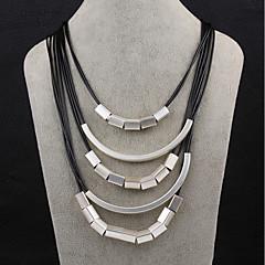 Dames Hangertjes ketting Sieraden Geometrische vorm Verzilverd Modieus Sieraden Voor Dagelijks