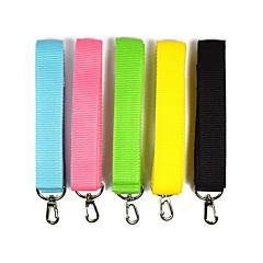 voordelige Hondenhalsbanden, tuigjes & riemen-Hond Lijnen draagbaar Effen Nylon Zwart Geel Groen Blauw Roze