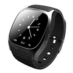smartwatch m26 bluetooth inteligentny zegarek z led alitmeter musicplayer pedometer ios android inteligentny telefon