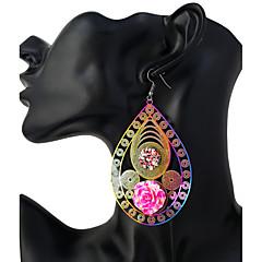 preiswerte Ohrringe-Damen Tropfen-Ohrringe - Edelstahl Personalisiert, Modisch Rosa Für Geschenk Ausgehen