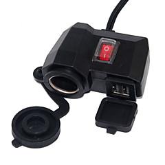Kit de Carga 2 Puertos USB Incluye Cable DC 5V/3.1A