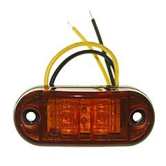 Недорогие Фары для мотоциклов-SENCART Автомобиль Мотоцикл Грузовик Лампы 1W W Dip LED 90lm lm 2 Внешние осветительные приборы ForУниверсальный Все года