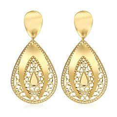 Damskie Kolczyki wiszące Biżuteria Modny Wyrazista biżuteria Miedź Pozłacane Kropla Biżuteria Na Impreza Halloween