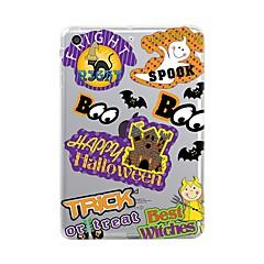 Voor iPad (2017) Hoesje cover Transparant Patroon Achterkantje hoesje Transparant Halloween Zacht TPU voor Apple iPad (2017) iPad Pro